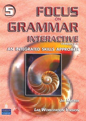 Focus on Grammar 5 Interactive CD-ROM (2nd Edition) (Pt. 5): Maurer, Jay
