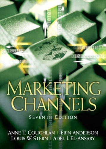 9780131913462: Marketing Channels