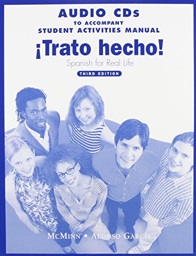 9780131914148: Trato Hecho Audio CDs: Spanish for Real Life
