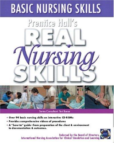 9780131915268: Prentice Hall Real Nursing Skills: Basic Nursing Skills