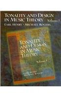 9780131916043: Tonality and Design in Music Theory: 1