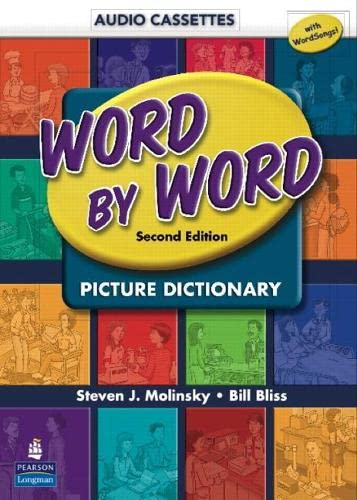 9780131916128: Word by Word Picture Dictionary with Wordsongs Music CD Student Book Audio Cassettes