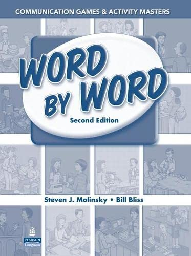 9780131916258: Word by Word Communication Games & Activity Masters
