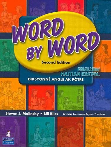 9780131916272: Word by Word Picture Dictionary: English/Haitian/Kreyol
