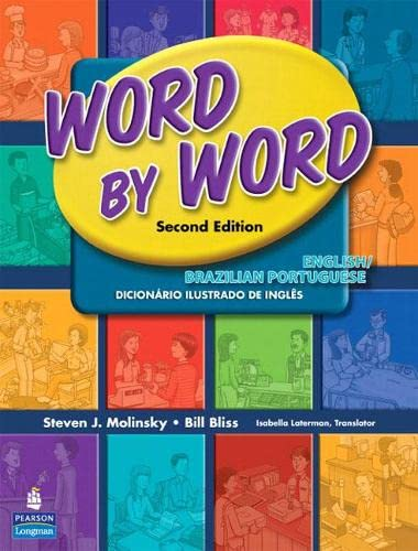 9780131916333: Word by Word Picture Dictionary English/Brazilian Portuguese Edition
