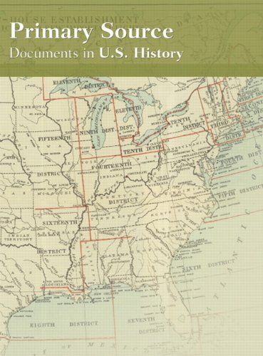 Primary Source: Documents in U.S. History (CD-: Pearson Education