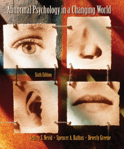9780131916784: Abnormal Psychology in a Changing World