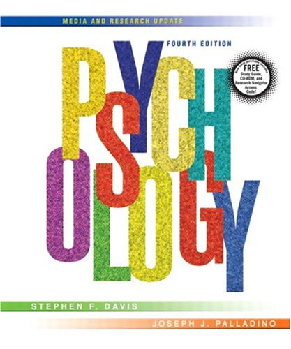 Psychology: Media and Research Update (4th Edition): Stephen F. Davis,