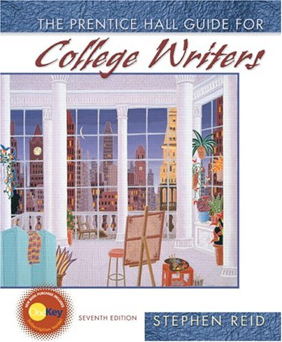9780131918221: The Prentice Hall Guide for College Writers (7th Edition)