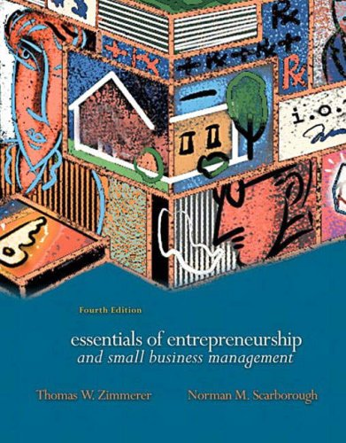 9780131918566: Essentials of Entrepreneurship and Small Business Management