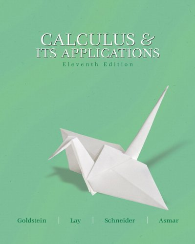 9780131919631: Calculus and its Applications (11th Edition)