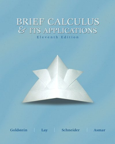 9780131919655: Brief Calculus and Its Applications (11th Edition)