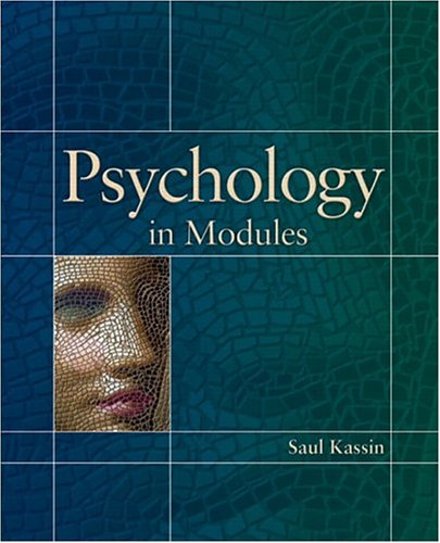 9780131919983: Psychology in Modules