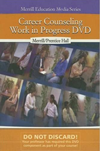 9780131920019: Career Counseling: Work in Progress DVD