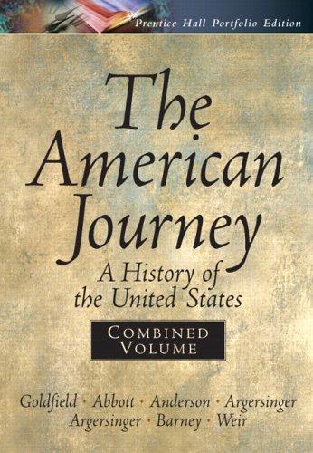 9780131921009: American Journey Portfolio, Combined