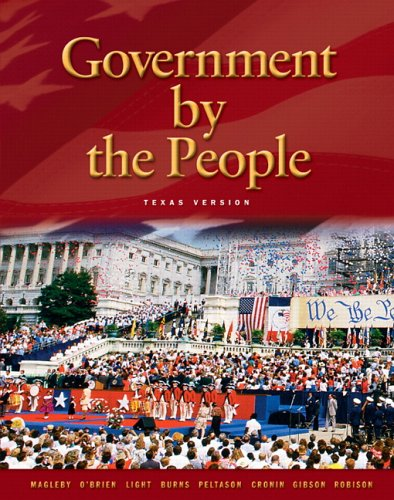 9780131921573: Government by The People, Texas Edition (21st Edition)