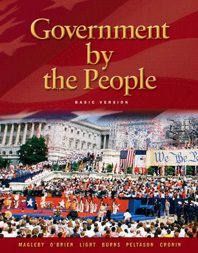 Government By the People, Basic Version (21st: David B. Magleby,