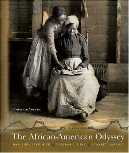 9780131922174: The African American Odyssey: Combined Edition (3rd Edition)