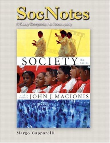 9780131922563: SocNotes for Macionis for Society: The Basics