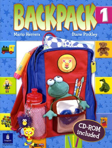 9780131922990: Backpack Student Book & CD-ROM, Level 1