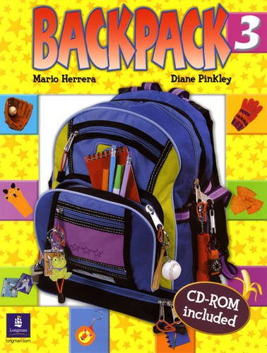 9780131923010: Backpack Student Book & CD-ROM, Level 3