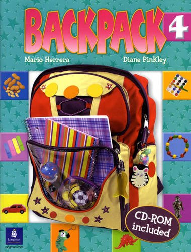 9780131923027: Backpack Student Book & CD-ROM, Level 4