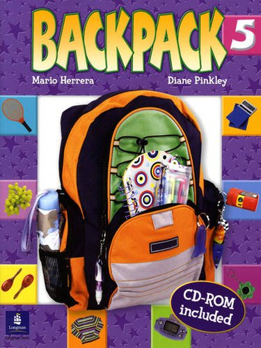 9780131923041: Backpack Student Book & CD-ROM, Level 5: Student Book and CD-Rom Level 5