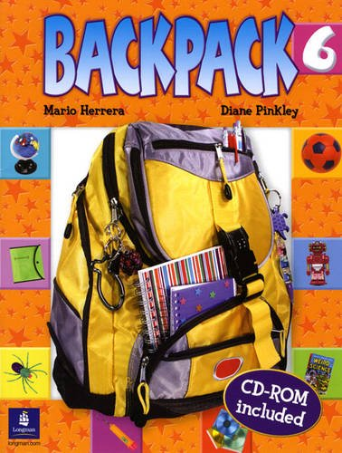 Backpack Student Book & CD-ROM, Level 6 (9780131923058) by Herrera, Mario; Pinkley, Diane