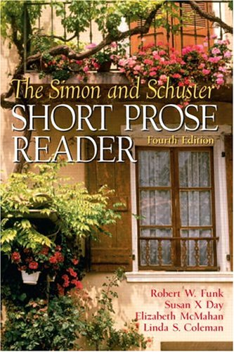 9780131925892: Simon and Schuster Short Prose Reader, The (4th Edition)