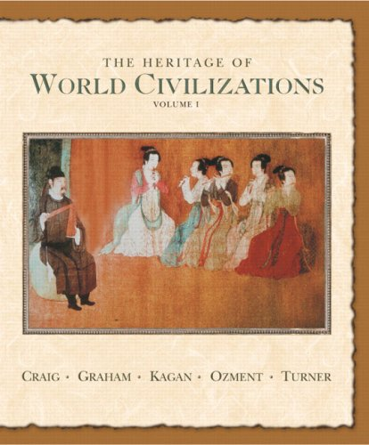 9780131926196: The Heritage of World Civilizations: Volume One to 1700 (7th Edition)