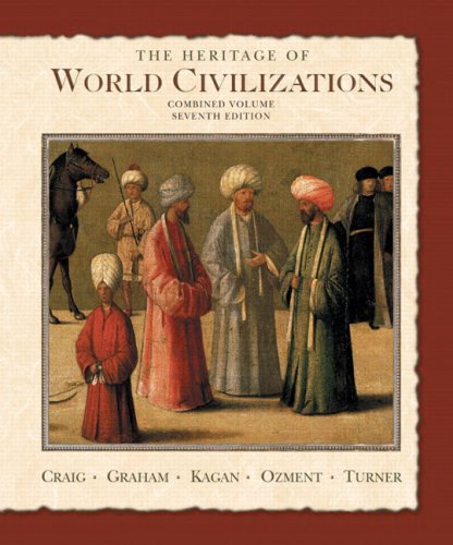 9780131926233: The Heritage of World Civilizations: Combined Volume