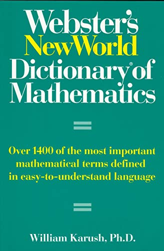 9780131926677: Webster's New World Dictionary of Mathematics