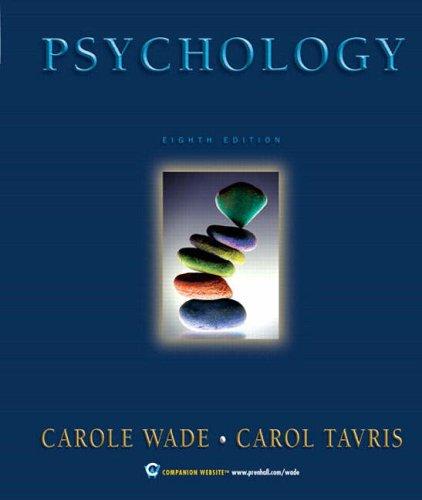 9780131926844: Psychology (8th Edition)