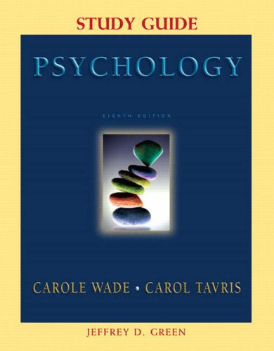 9780131927049: Supplement: Study Guide - Psychology 8/E