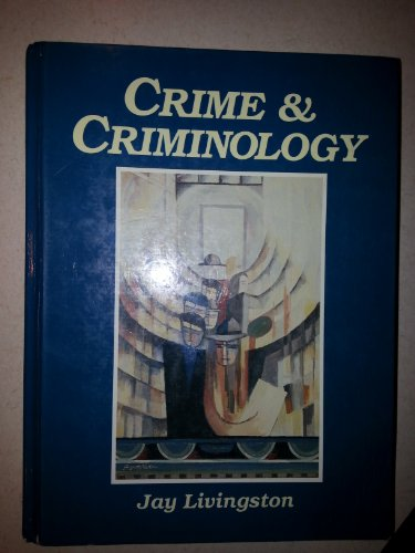 9780131927827: Crime and Criminology