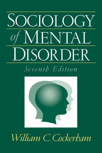 9780131928534: Sociology of Mental Disorder