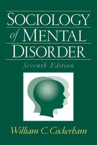 9780131928534: Sociology of Mental Disorder