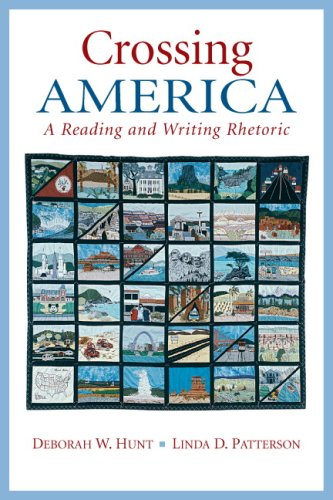 9780131928732: Crossing America: A Reading and Writing Rhetoric
