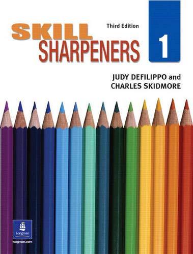 SKILL SHARPENERS BOOK 1 (Bk. 1): DeFilippo, Judy; Skidmore,