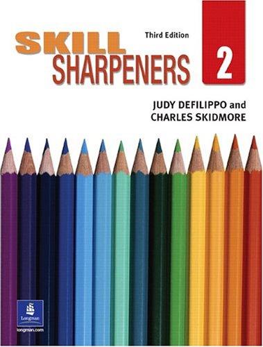 Skill Sharpeners, Book 2 (3rd Edition) (Bk.: Judy DeFilippo; Charles