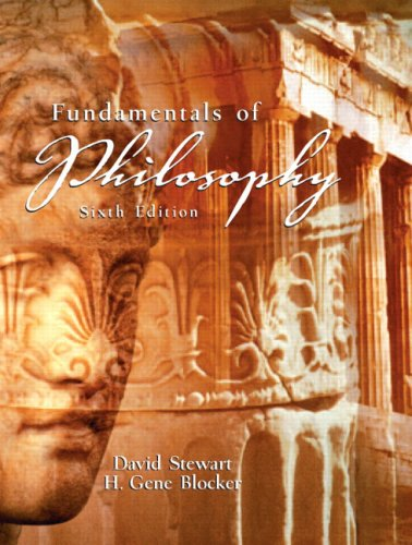 9780131930025: Fundamentals of Philosophy