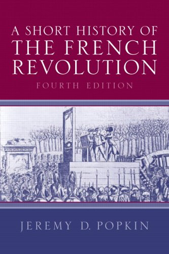9780131930377: A Short History of the French Revolution