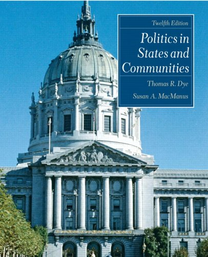 9780131930797: Politics in States and Communities (12th Edition)