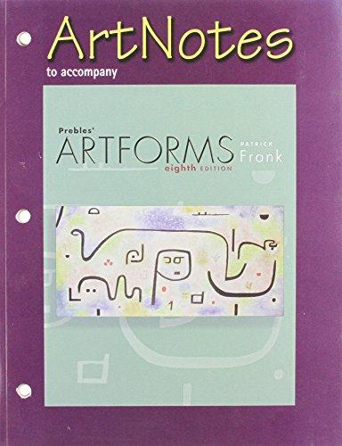 prebles artforms 12th edition table of contents