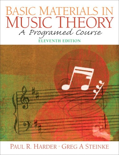 9780131931008: Basic Materials in Music Theory