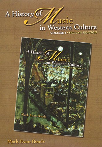 9780131931114: History of Music in Western Culture (includes 6 CDs)