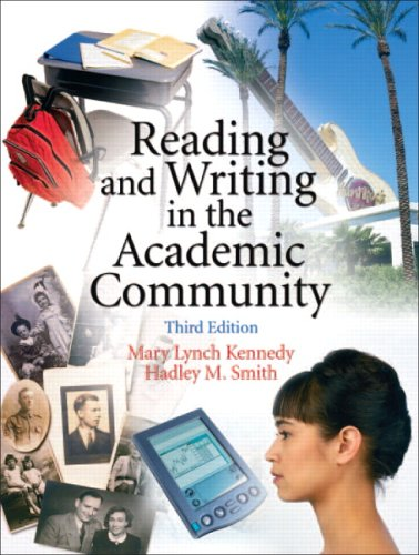 9780131931336: Reading and Writing in the Academic Community (3rd Edition)
