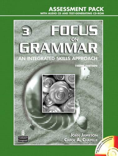 9780131931404: Focus on Grammar 3, Assessment Pack