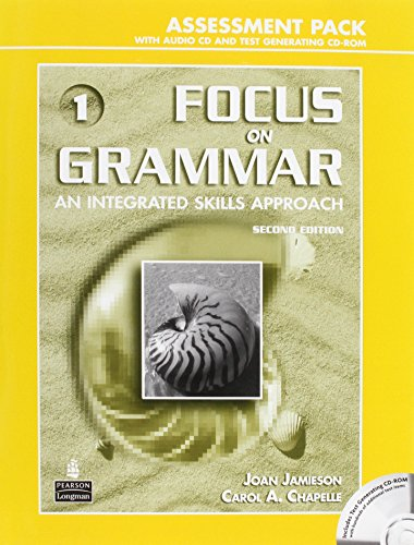9780131931428: Focus on Grammar 1 Assessment Pack with Audio CD and Test Generating CD-ROM