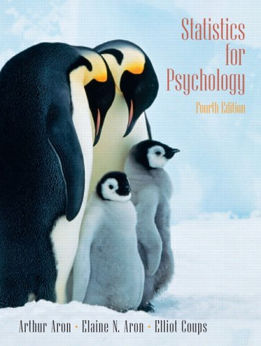 9780131931671: Statistics for Psychology (4th Edition)